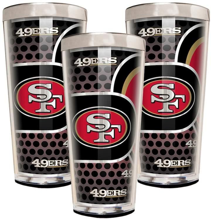 San Francisco 49ers 3-Piece Shot Glass Set
