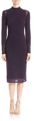 Elie Tahari Kenza Cashmere Sweater Dress $368 thestylecure.com