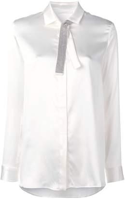 Fabiana Filippi bow plain shirt
