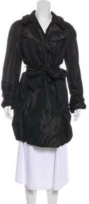 Dolce & Gabbana Iridescent Trench Coat
