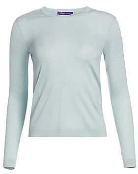 Ralph Lauren Women's Sleeveless Crew Cashmere Sweater