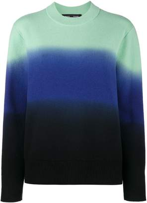 Proenza Schouler gradient colour jumper