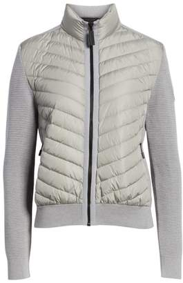Canada Goose Hybridge Quilted & Knit Jacket