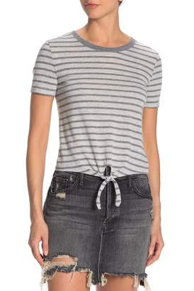 Alternative Short Sleeve Tie Front T-Shirt