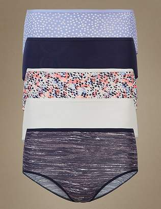 Marks and Spencer 5 Pack No VPL Midi Knickers