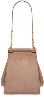 Max Mara Small Suede Structured Bag