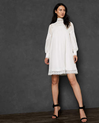 Ted Baker KATHIEA High neck lace tunic dress