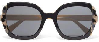 Prada Oversized Square-frame Acetate Sunglasses - Tortoiseshell