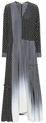 Stella McCartney Dominique printed silk dress