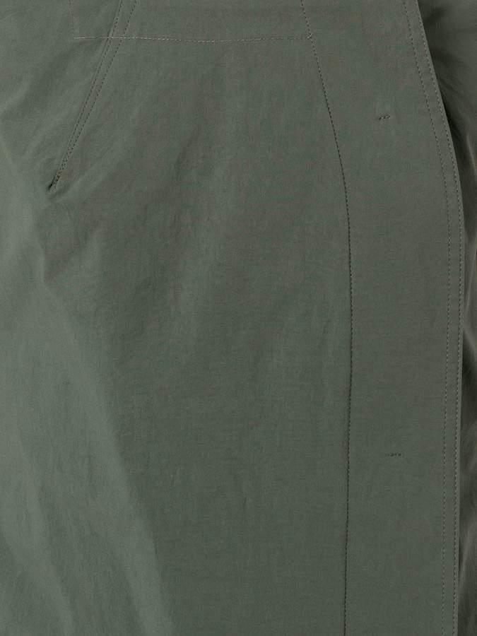 Tomas Maier dislocated fastening sleeveless dress