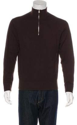 Theory Cashmere Zip Sweater