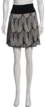 Missoni Pleated Mini Skirt