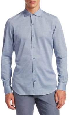 Loro Piana Cotton Casual Button-Down Shirt