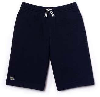 Lacoste Boys' Brushed Pique Bermuda Shorts