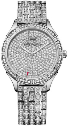 Juicy Couture Women's Arianna Crystal Bracelet Watch $495 thestylecure.com