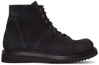 Rick Owens Black Monkey Creeper Boots