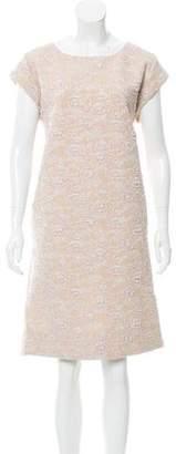 Rochas Brocade Midi Dress w/ Tags