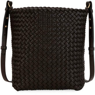 Bottega Veneta Intrecciato Cabat Leather Hobo Bag