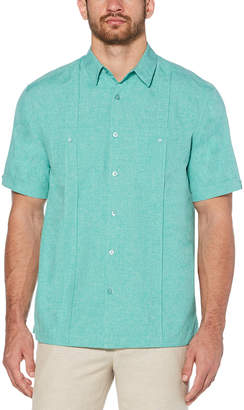 Cubavera Big & Tall Two-pocket pintuck panel shirt