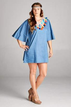 Velzera Summer Blue Dress