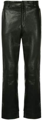 Wooyoungmi classic leather trousers