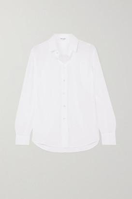 Saint Laurent Silk Crepe De Chine Shirt - White