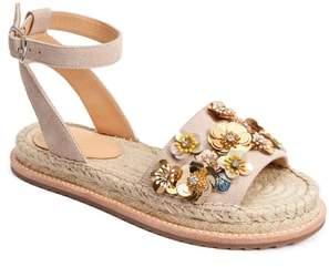 Bill Blass Bromley Floral Embellished Espadrille