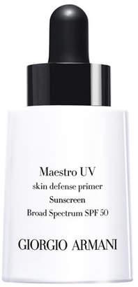 Giorgio Armani Maestro UV Skin Defense Primer Sunscreen SPF 50, 1 oz.