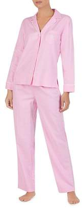 Ralph Lauren Brushed Twill PJ Set