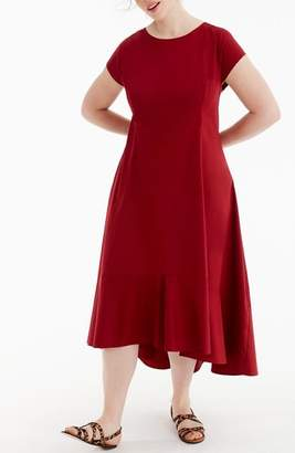 J.Crew Universal Standard for Stretch Poplin Dress