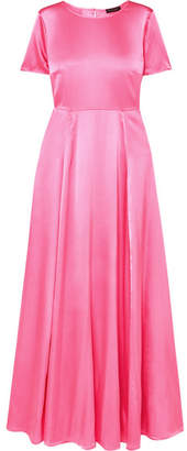 Stine Goya Nanna Silk-blend Charmeuse Maxi Dress - Pink