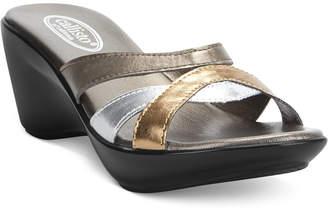 Callisto Jet Wedge Sandals Women's Shoes