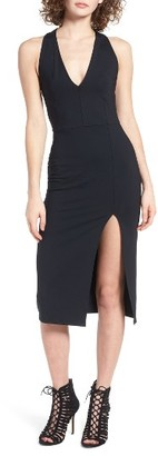 Women's Leith Deep V Body-Con Dress $59 thestylecure.com