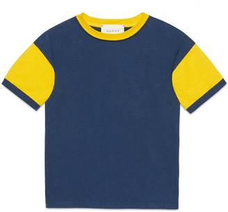 Children's cotton t-shirth with embroidery $195 thestylecure.com