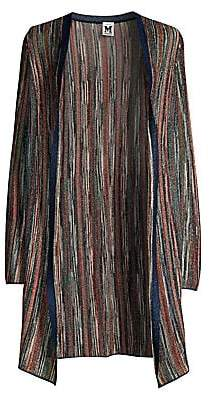 M Missoni Women's Multi Lurex Open-Front Cardigan