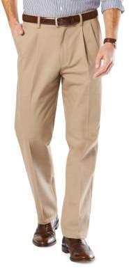 Dockers Big and Tall Signature Pleated Khaki Pants
