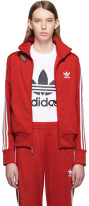 adidas Red Firebird Track Jacket