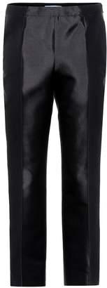 Prada Wool and silk trousers