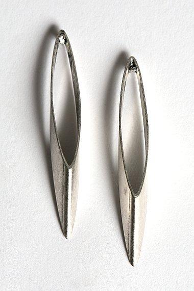 Long Oval Earring
