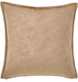Fino Lino Linen & Lace Shimmer Decorative Square Pillow