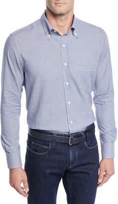 Loro Piana Micro-Check Sport Shirt