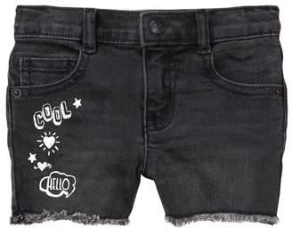 Crazy 8 Doodle Fringe Midi Shorts