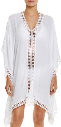 Tommy Bahama Lace Trim Tunic Swim Cover-Up $98 thestylecure.com