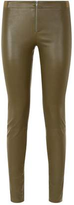 Alice + Olivia Expos Leather Leggings