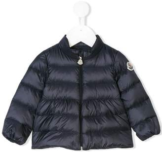 Moncler patched arm padded jacket