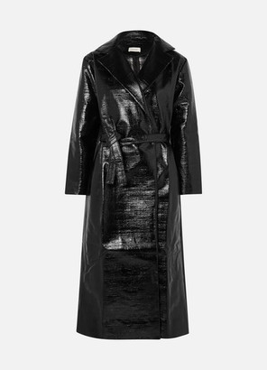 Totême Mira Coated Cotton-blend Trench Coat