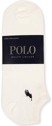 Polo Ralph Lauren Pack of three trainer socks