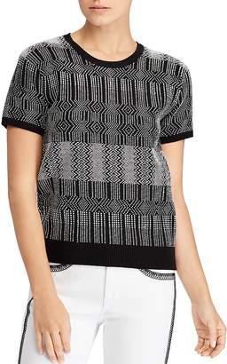 Lauren Ralph Lauren Geometric-Print Sweater