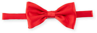 Stefano Ricci Solid Satin Bow Tie