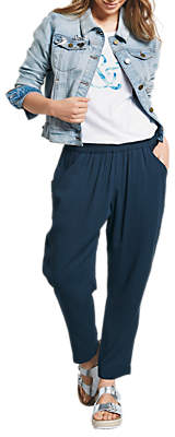 Hush Cropped Relaxed Trousers